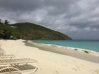 Coki Beach on St. Thomas.