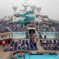 out on the Lido Deck