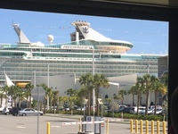 Freedom of the Seas at Port Canaveral