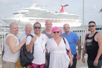 Some of our group just landed in Cozumel