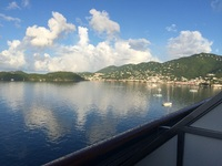 Waking up in Saint Thomas!