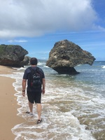 Exploring Bathsheba , Barbados.