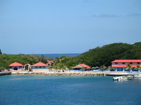 Labadee entrance area