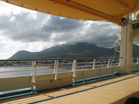St. Kitts - one of the mountains - from deck 4
