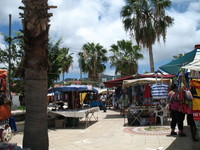 Market - French side of St. Maarten