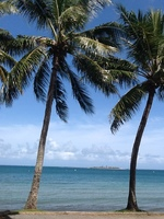 Beautiful beaches and water in Noumea on the City, bay and countryside tour