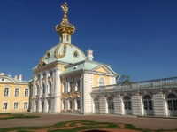 Peterhof Palace near St Petersburg.