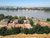 Danube River from the top of Esztergom