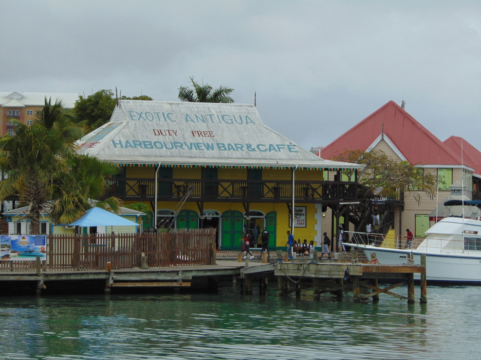 Bar on Runaway Bay, Antigua
