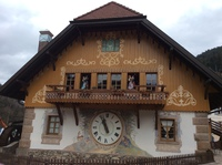 World's largest cuckoo clock.