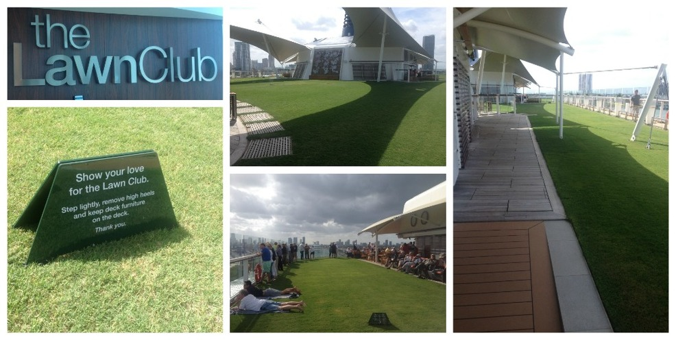 The Lawn Club on top deck