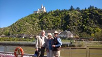 Sailing on the middle Rhine