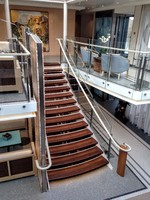 This is the main staircase in the lobby