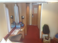 Yep another room shot, like being able to buy water prior to the cruise.