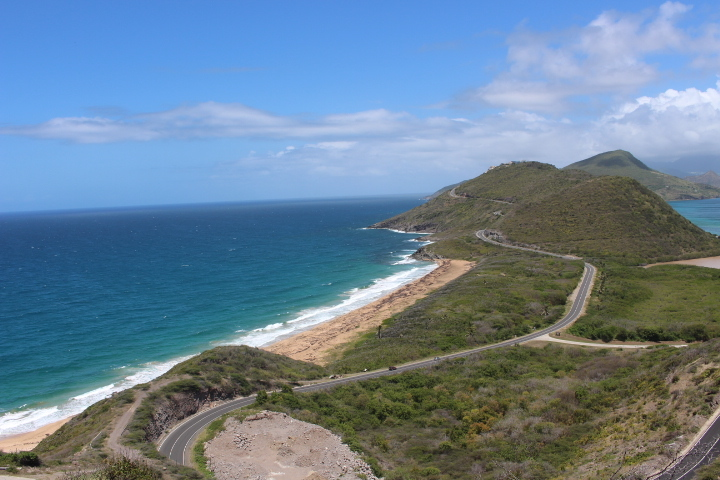 Timothy Bay in St Kitts