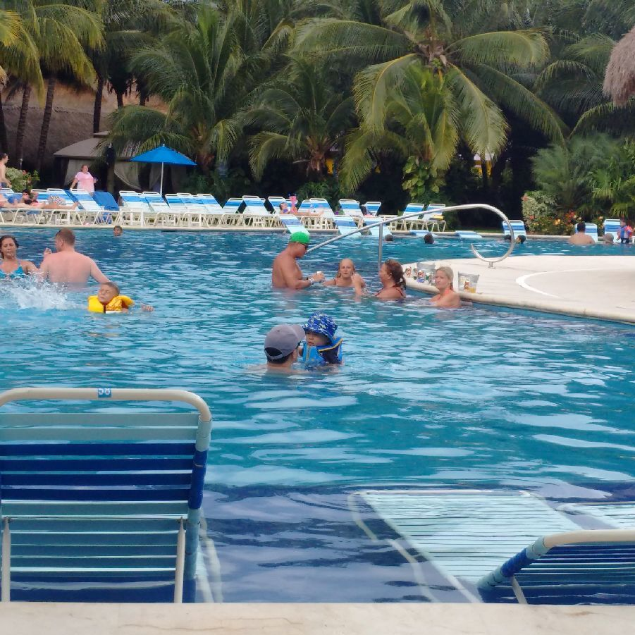 The beach pool on oasis of the seas cruise ship cruise critic - Report Inappropriate Content