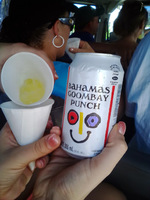 Our awesome cabby bought us a cool drink to taste. It was interesting.