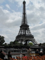 Eiffel Tower - took the Taste of Paris tour after docking in Le Havre.