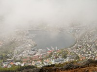 Bergen from top of Mount Floien