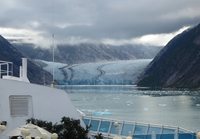 Endicott Glacier, but most thought we were at the scheduled Tracy Arm.