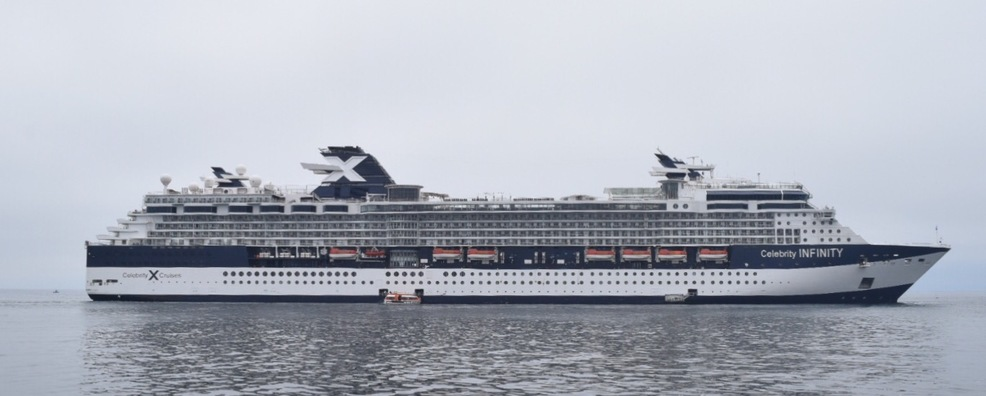 Celebrity Infinity - Itinerary Schedule, Current Position ...