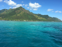 South Pacific water is so beautiful