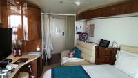 Our cabin on deck 11, aft.