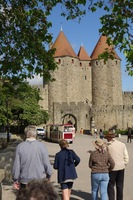 Carcassonne offers 2,500 years of history; we walk where Gauls and Romans walked
