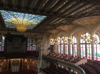 Opera house in Barcelona