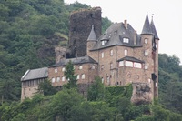 One of the lovely castles along the Rhine
