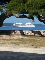 Anchored out ... Hvar Croatia