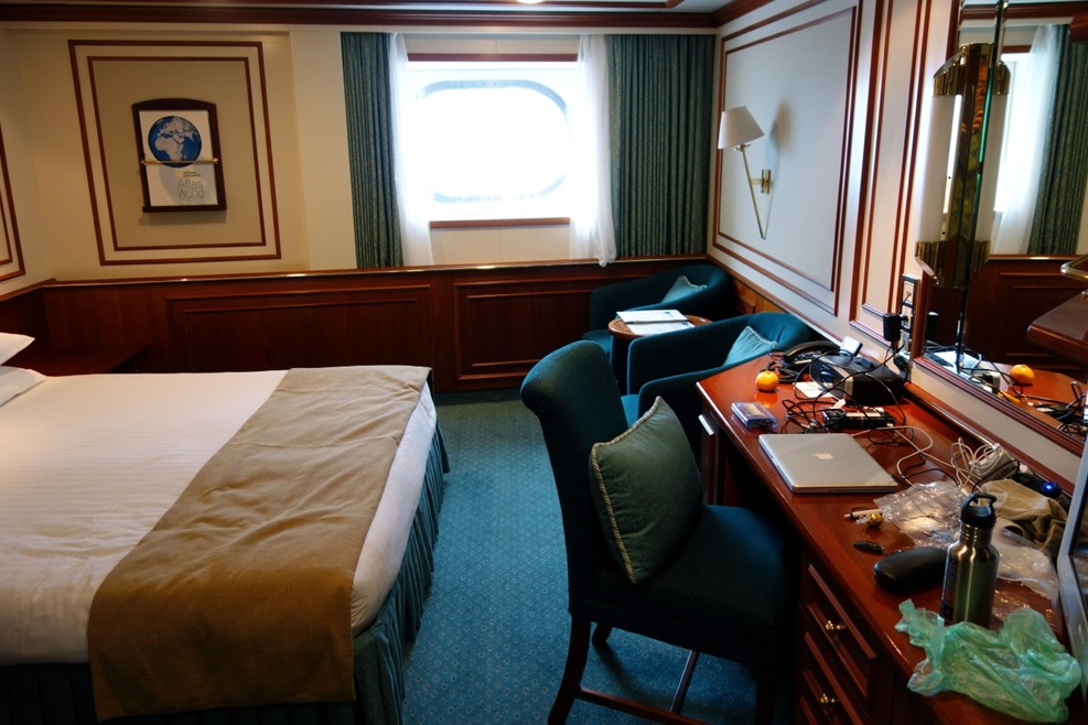 spacious and comfortable cabin
