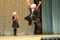 russian dance demonstration
