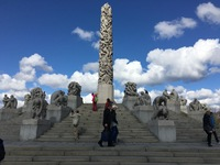 An amazing gift from Vigeland to the city of Oslo, Vigeland Sculpture park,