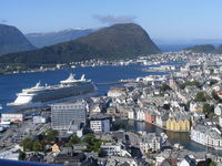 View from Mt Aksla, Alesund