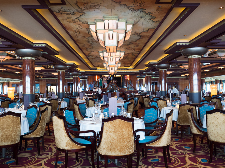 The Updated Grand Pacific Dining Room Norwegian Gem Cruise