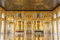The Grand Hall inside Catherine's Palace, St. Petersburg © photography copyright of Sue Leonard