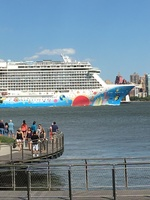 This is the size of the ship. It is mostly made up of cabins and lounge cha