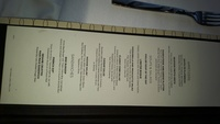 Haven dining room menu 3
