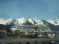 Radiance in Seward Port.