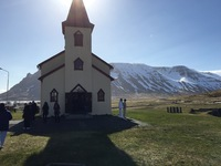A church in Isafjordur