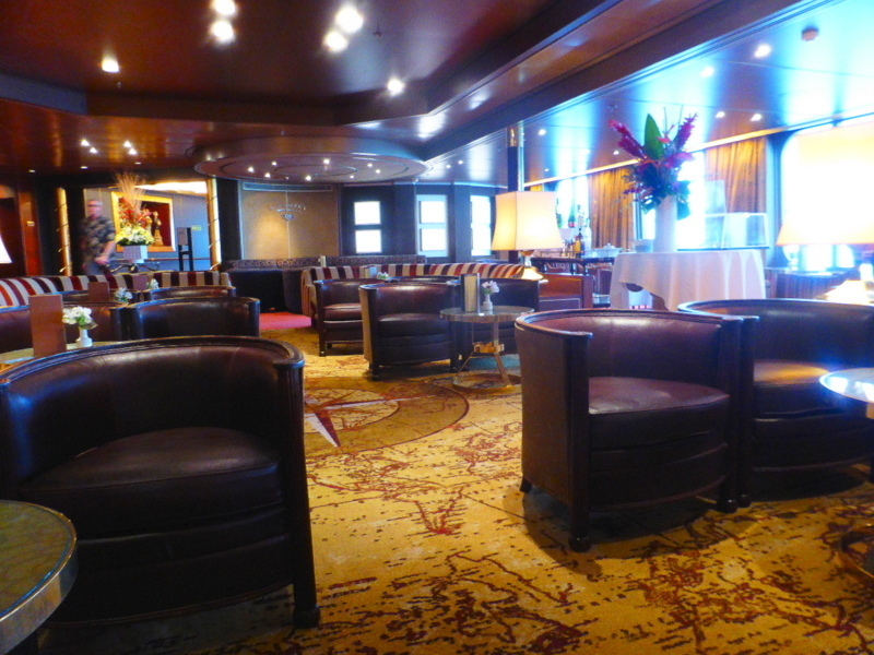 This is the Explorer's Lounge where Adagio (Atilla & David) played nightly.  I loved listening to their music.