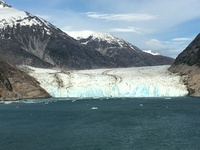 Endicott Glacier - we went here instead of Tracy Arm