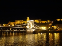 Gorgeous night-time Sail Away from Budapest.  I will never forget it.