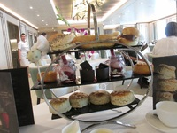 Delicious afternoon tea- worth paying extra for.