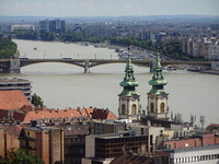 Budapest, one of the many bridges