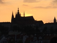 Prague castle and st vitas cathedral