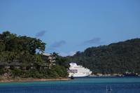 The ship in Port Vila, Vanuatu