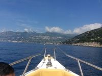 Amalfi Coast by motor launch