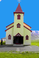 Local Church near Isafjordur - Shore excursion - An Insight into Isafjordur - slightly